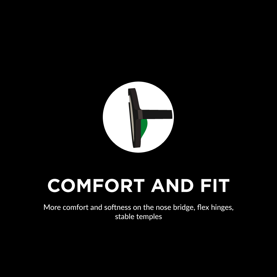 Comfort and fit