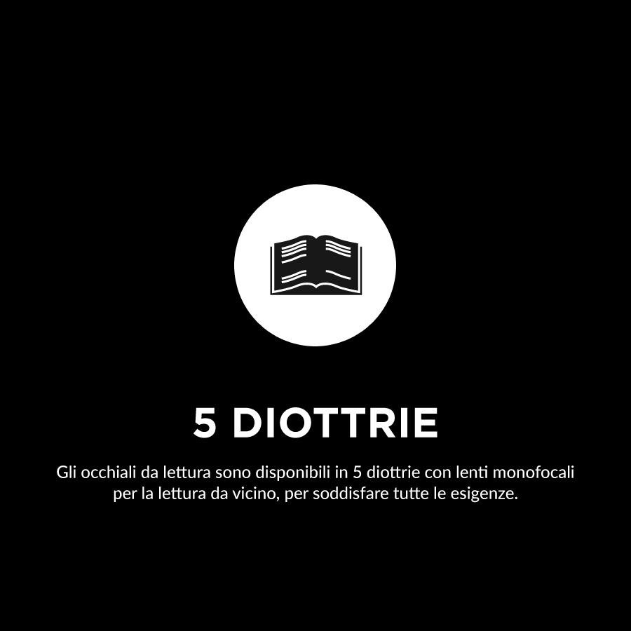 5 diottrie